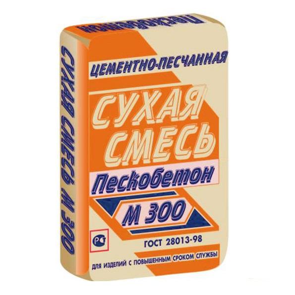Фото - Пескобетон М 300 Инфострой/Infostroy 40 кг.