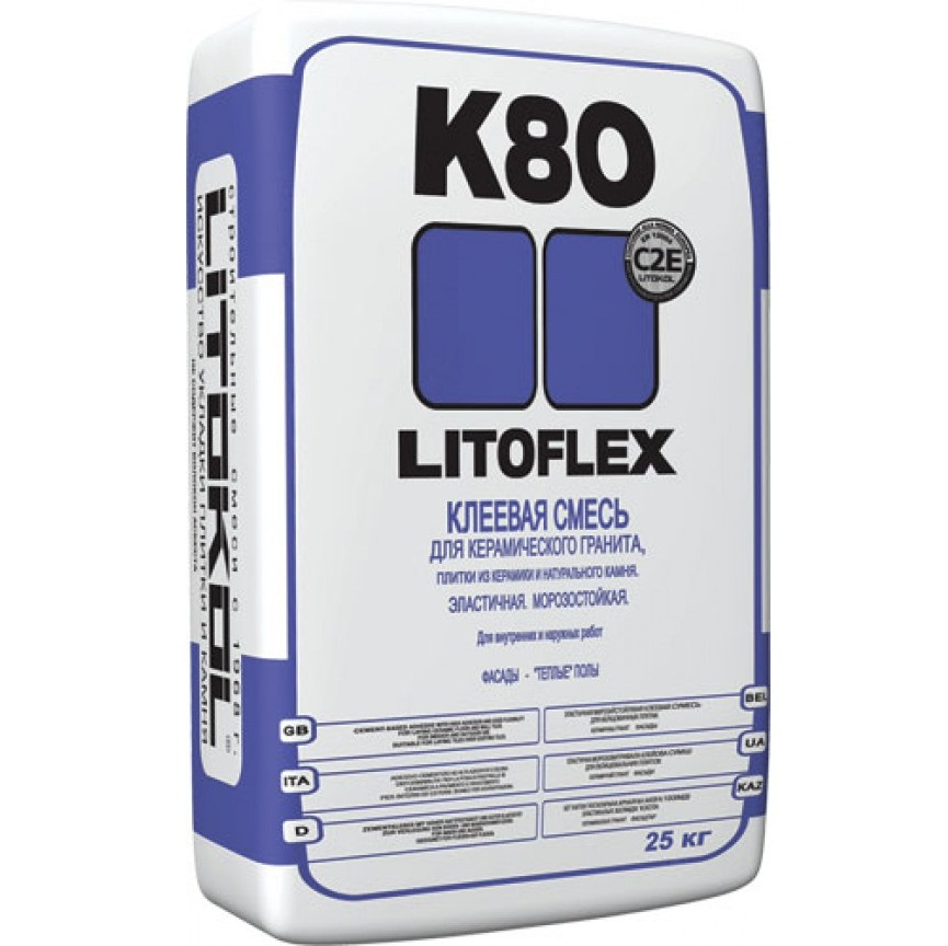 Фото - LITOKOL (Литокол) LITOFLEX  К80 25кг