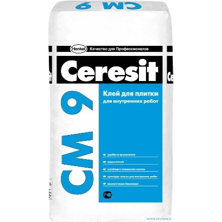 Плиточный клей Ceresit СМ-9, фото
