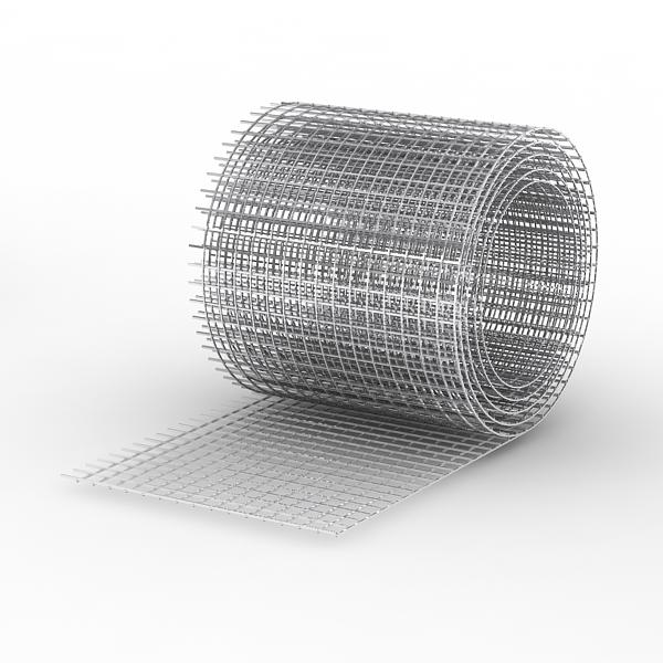Фото - Сетка чёрная ячейка 50х60х1.6мм (размер 1.5х25м)
