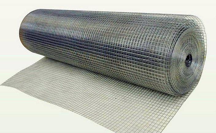 Фото - Сетка ячейка 10х10х0.6мм (размер 1х15м)