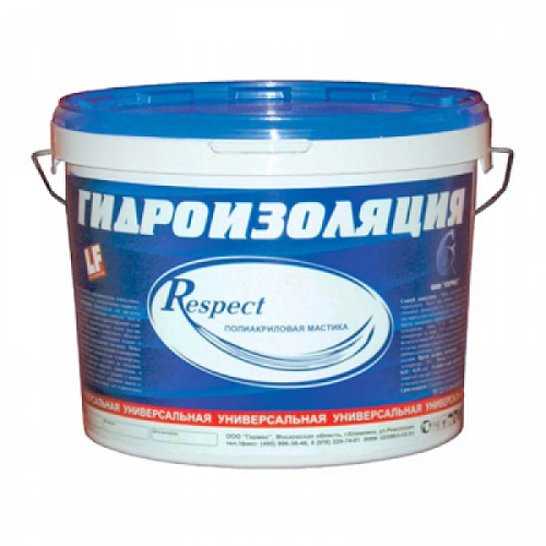 Фото - Гидроизоляция респект (respect) 5 кг