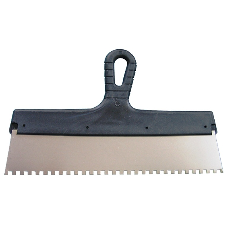 Фото - Шпатель зубчатый для плитки 450мм (зуб 6х6)