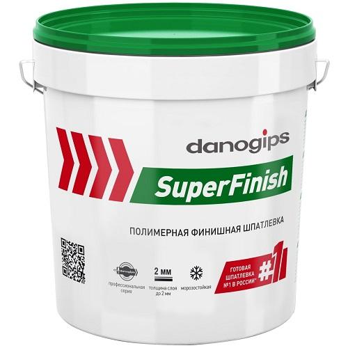 Фото - Шпатлевка Danogips SuperFinish универсальная 17 л/28 кг