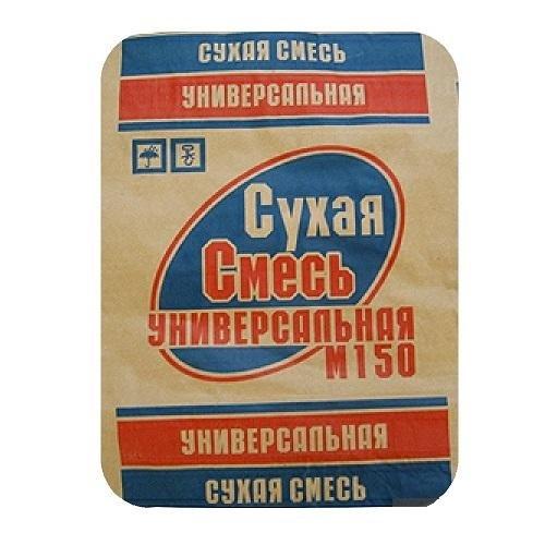 Сухая смесь Универсальная М-150 - 40 кг., фото