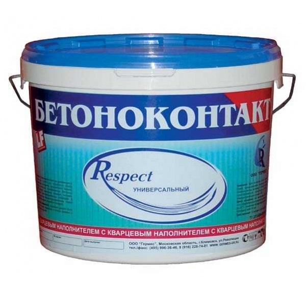 Фото - Бетоноконтакт Respect (Респект) 5 кг