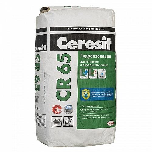 Фото - Гидроизоляция Церезит (Ceresit) CR-65