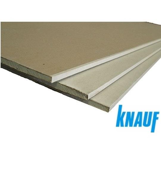 Фото - ГКЛ 9,5 мм (гипсокартонный лист обычный 1.2х2.5) Кнауф