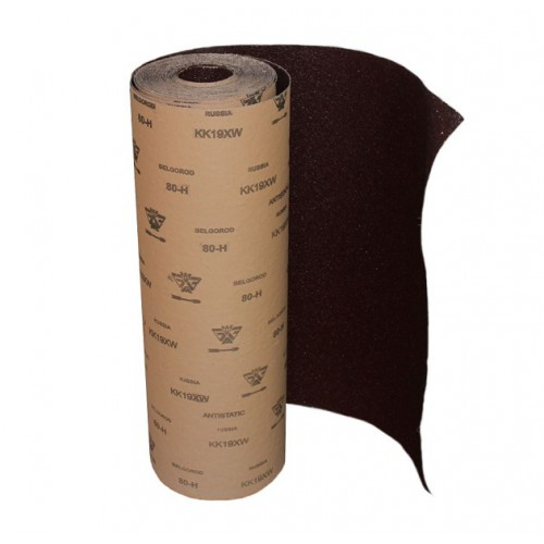 Фото - Шкурка шлифовальная, водостойкая на тканевой основе 12-H (за 1 м/п)