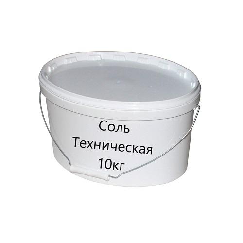 Фото - Соль техническая 10кг (противогололёдная)